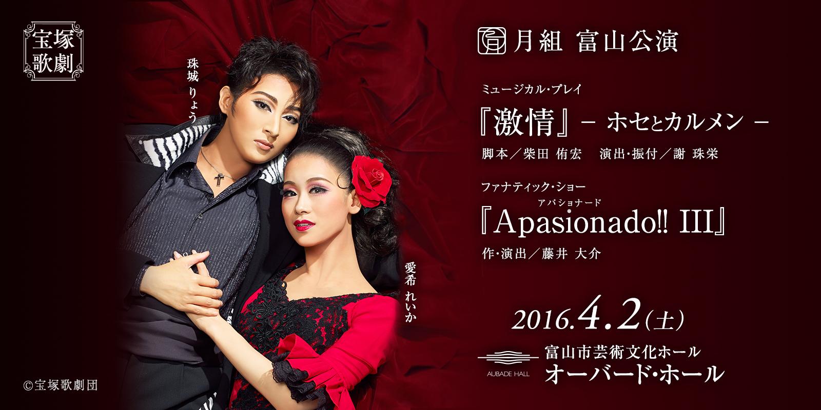 宝塚歌劇 月組 富山公演 2016